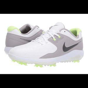 Nike Vapor Pro Golf Shoes Spiked Grey Volt Mens W